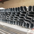 锌钢护栏用镀锌平椭圆管生产厂家