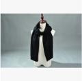 供应 热销围巾女士粗纺羊绒厚色两用加厚秋冬季新款厂家直销