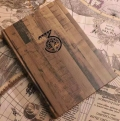 三年日记本彩凸工艺日程手账本记事本3年加厚连用笔记本创意日记