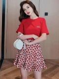 库存便宜韩版短袖连衣裙尾货服装批发夏装杂款尾货批发