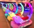 游乐场发光海豚贝贝广场游乐设备