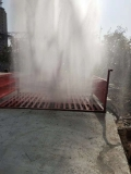 四川南充绿色采石场车辆自动洗车台